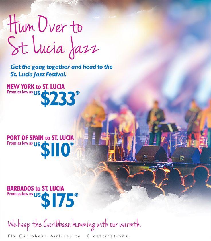 St Lucia Jazz Airline tickets, Travel deals, Destin resorts