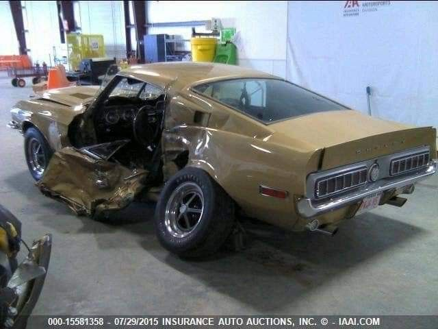 Pin By Adam J On Wrecked Muscle Cars Custom Muscle Cars Car