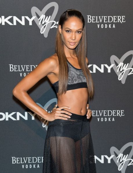 Joan Smalls || #DKNY25 Birthday Bash in NYC (September 9, 2013)
