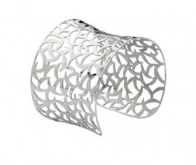 Flash sale! 25% off this steel filigree cuff! Today only!