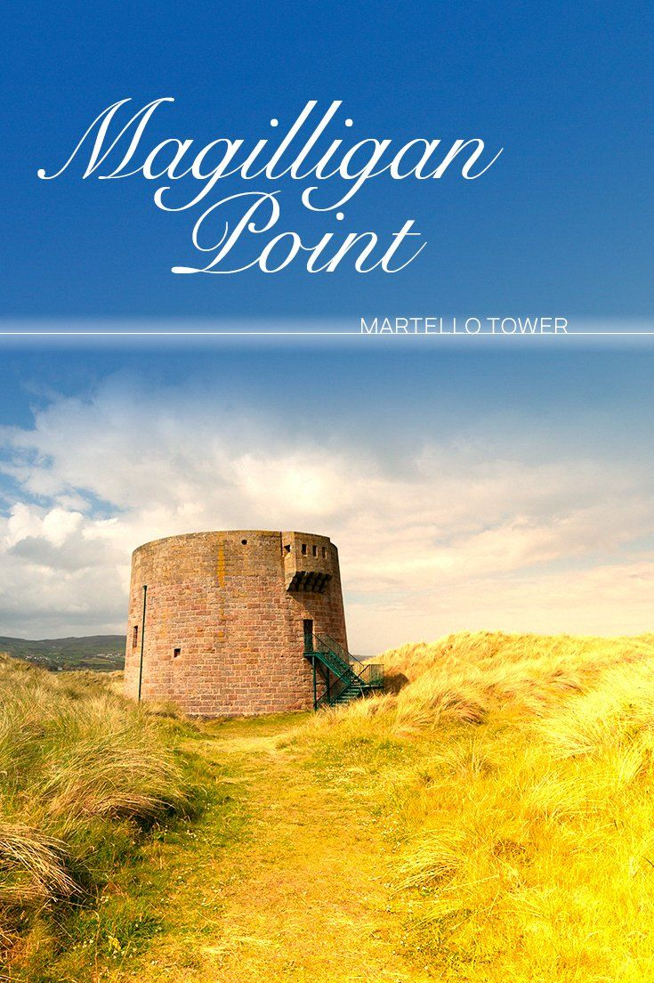 Marking the entrance to Lough Foyle, Northern Ireland's Martello Tower at Magilligan Point was built during the Napoleonic Wars. This is just one of an original 74 built all around the island of Ireland.