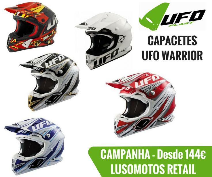 LUSOMOTOS RETAIL | Nova campanha da Lusomotos que entra hoje em vigor! Capacetes UFO WARRIOR (Off-Road) desde 144€*. Veja todos os capacetes que selecionámos. Boas escolhas! Boas compras! *Capacetes limitados ao stock existente. #lusomotos #lusomotosretail #agosto #ufo #capacetes #retail #campanha #promoções #limitadoaostockexistente #moto #estilodevida #verão #offroad