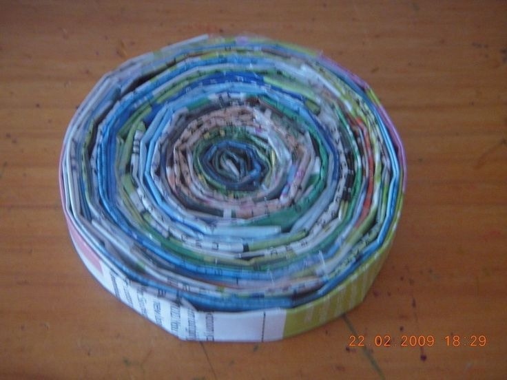 How to make a magazine bowl. Magazine Bowls - Step 6