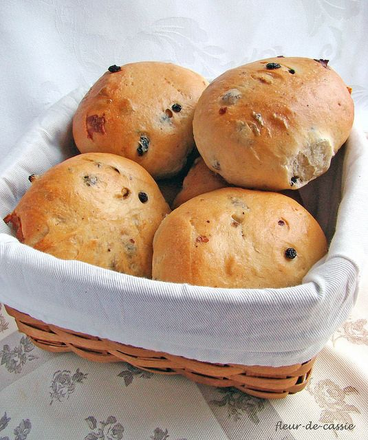 Йоркширские чайные булочки