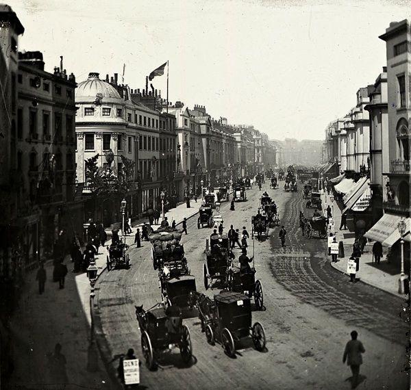 In Regent St, c.1900