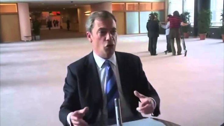 Nigel Farage : Plan B For The European Union (AMAZING)