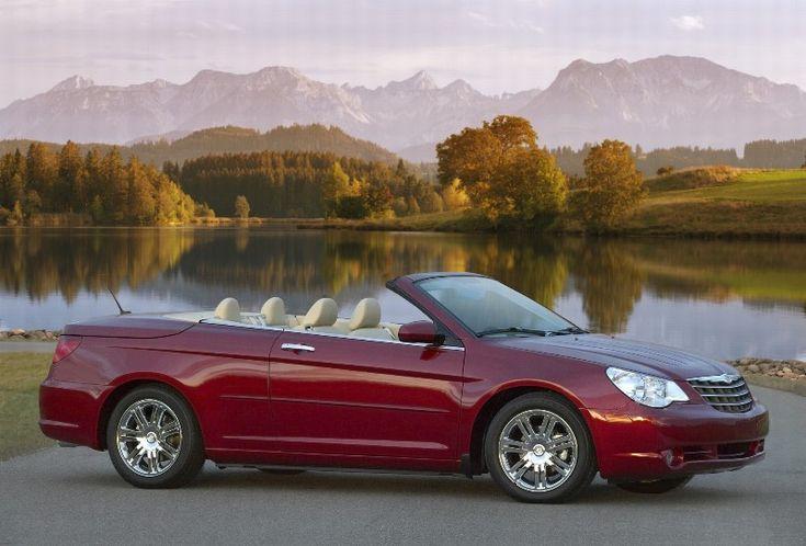 Road trip , driving a Chrysler Sebring Convertible