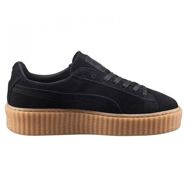 Basket Puma By Rihanna Creeper Noir Oatmeal