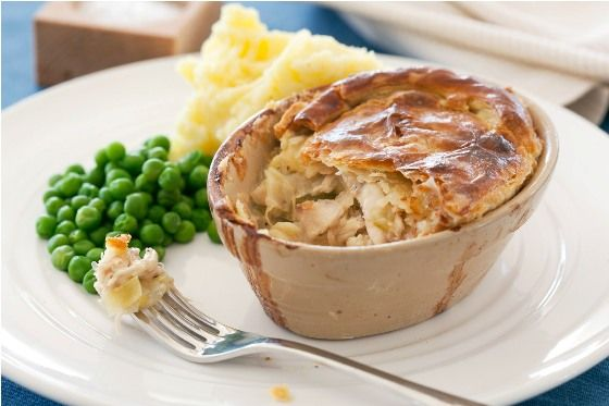 how to cook chicken pie