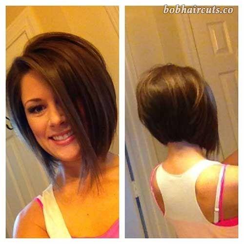 10 Bob Stacked Hairstyles - 5 #BobHaircuts