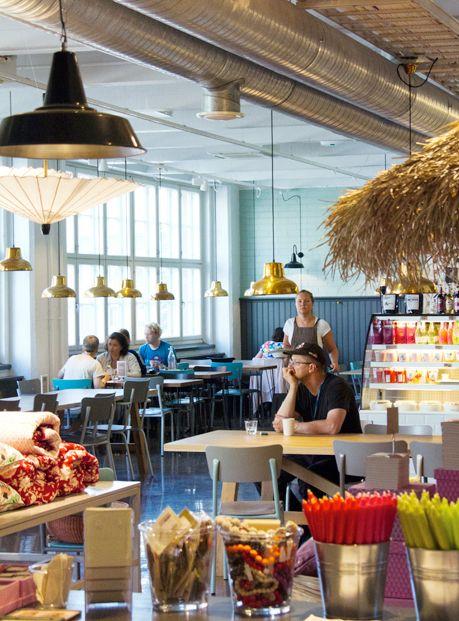 Moko Market & Café Punavuori // Helsinki