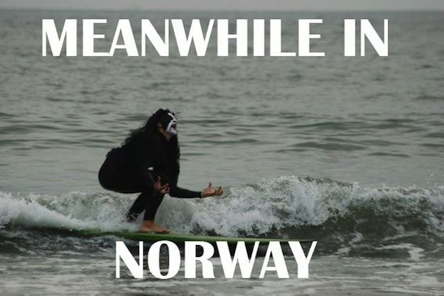 heavy metal band meme | Funniest Black Metal Versions of Famous Memes