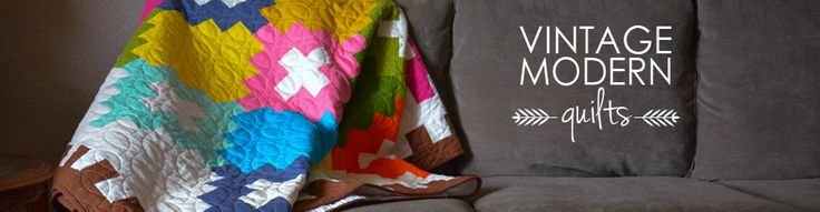 Learn to Quilt: Quilting Definitions and Resources | Vintage Modern Quilts