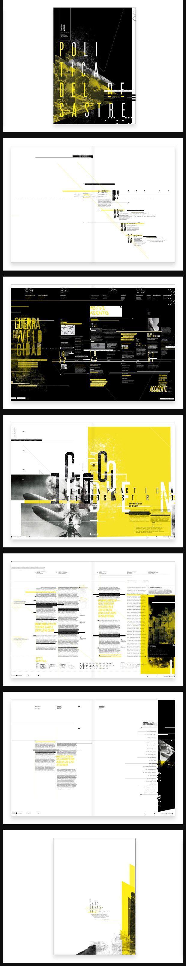 Fasciculo - Paul Virilio // Editorial Design, Graphic Design, Typography // Alejandra Tramontte