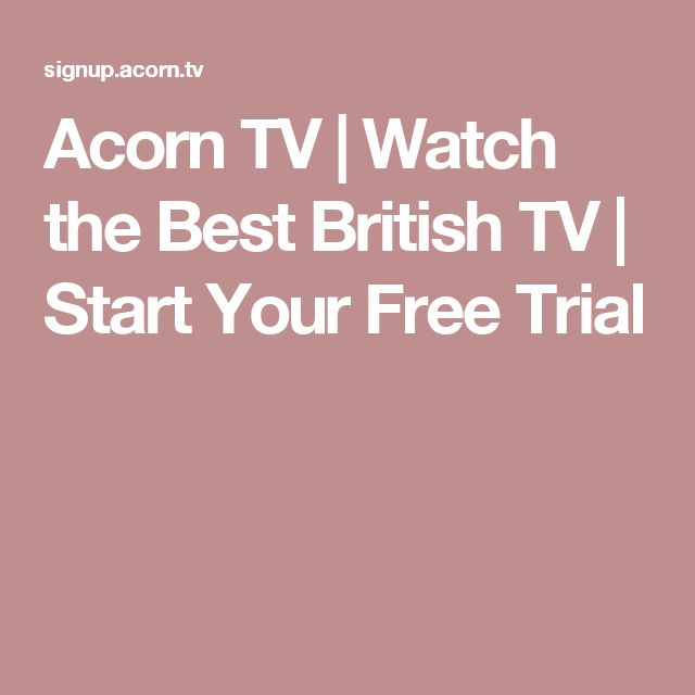Acorn TV | Watch the Best British TV | Start Your Free Trial