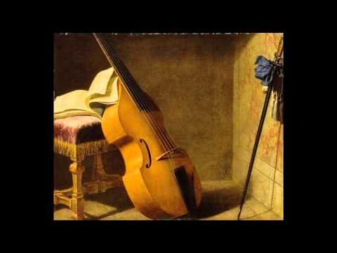 Monsieur de Sainte Colombe Works for 2 Bass Viols,Voix Humaines - YouTube
