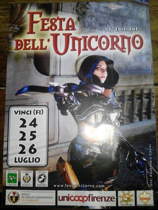 Ghibli presente nella brochure della festa dell Unicorno