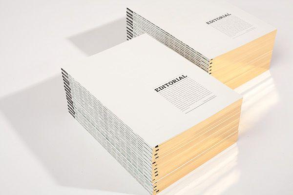 Revista sin cubierta - Komma Magazin