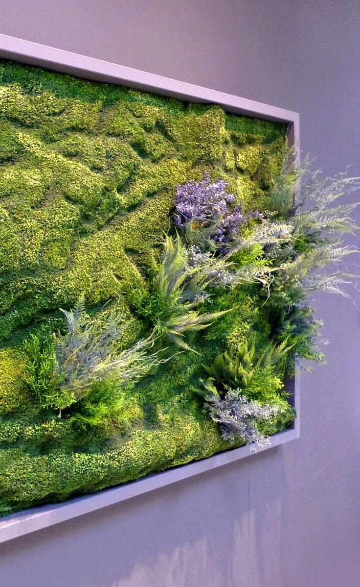 Livewall green wall system make conferences more comfortable - Cuaderno De Campo Y Taller