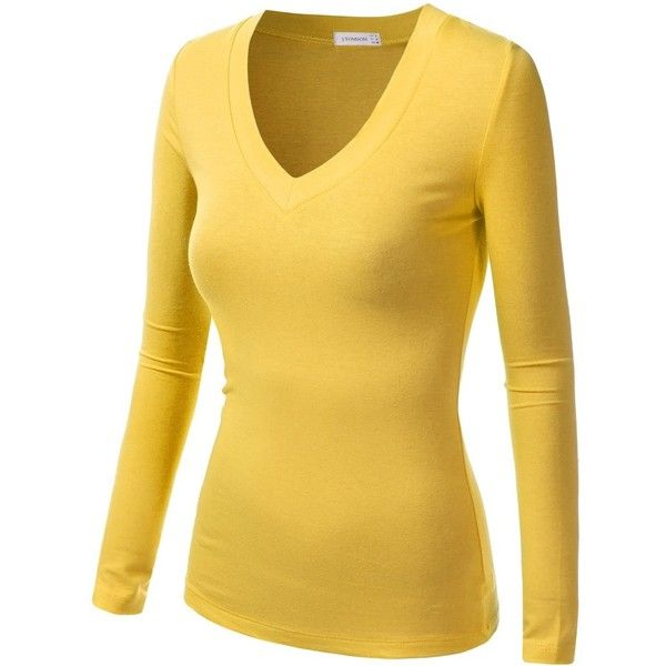 The 25  best Yellow long sleeve tops ideas on Pinterest | White ...