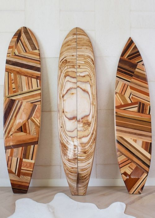 "Not exactly furniture... But I saw a ""surf board the other day that people were standing on and paddling. Loved it so much that when I saw these and what others could do I am determined to make my own now! Bring on the reclaimed wood, wood glue, clamps, sanders, laquer and wax!!!!"