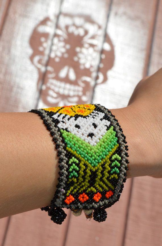 Pulsera / / pulsera Huichol / / pulsera de por TheMexicanGringo