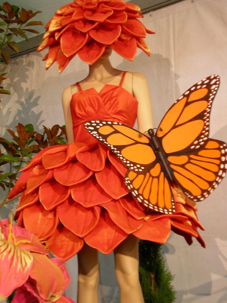 Disfraz flor