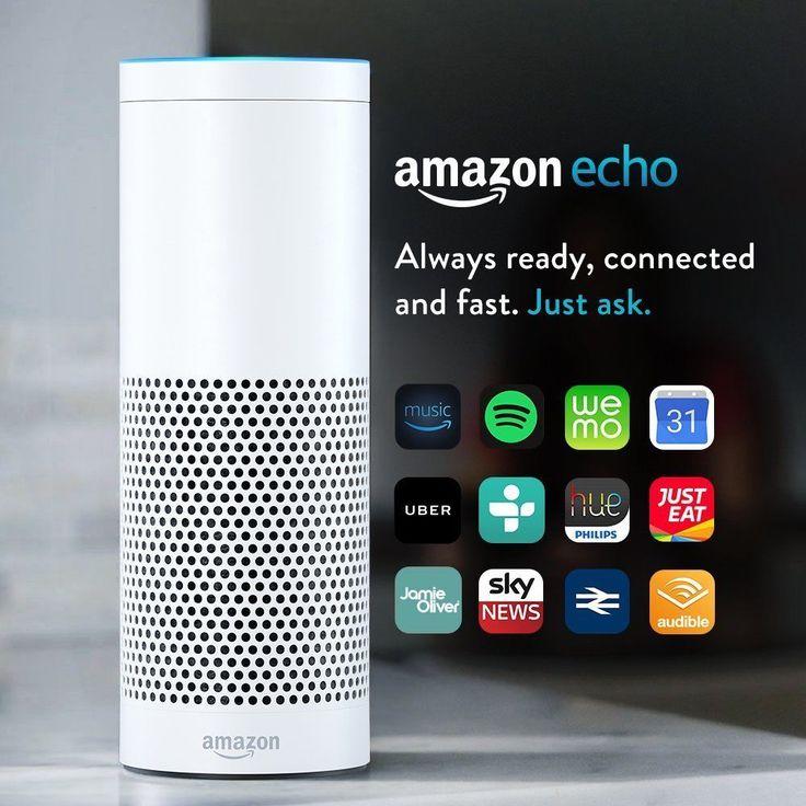 Amazon Echo w/ Alexa Voice Control Personal Assistant & Bluetooth Speaker White #Amazon