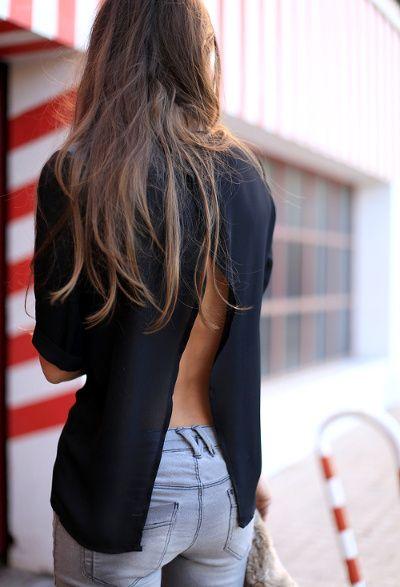 Rien de tel qu'un top au dos nu subtil pour pimenter un look casual ! #style #mode