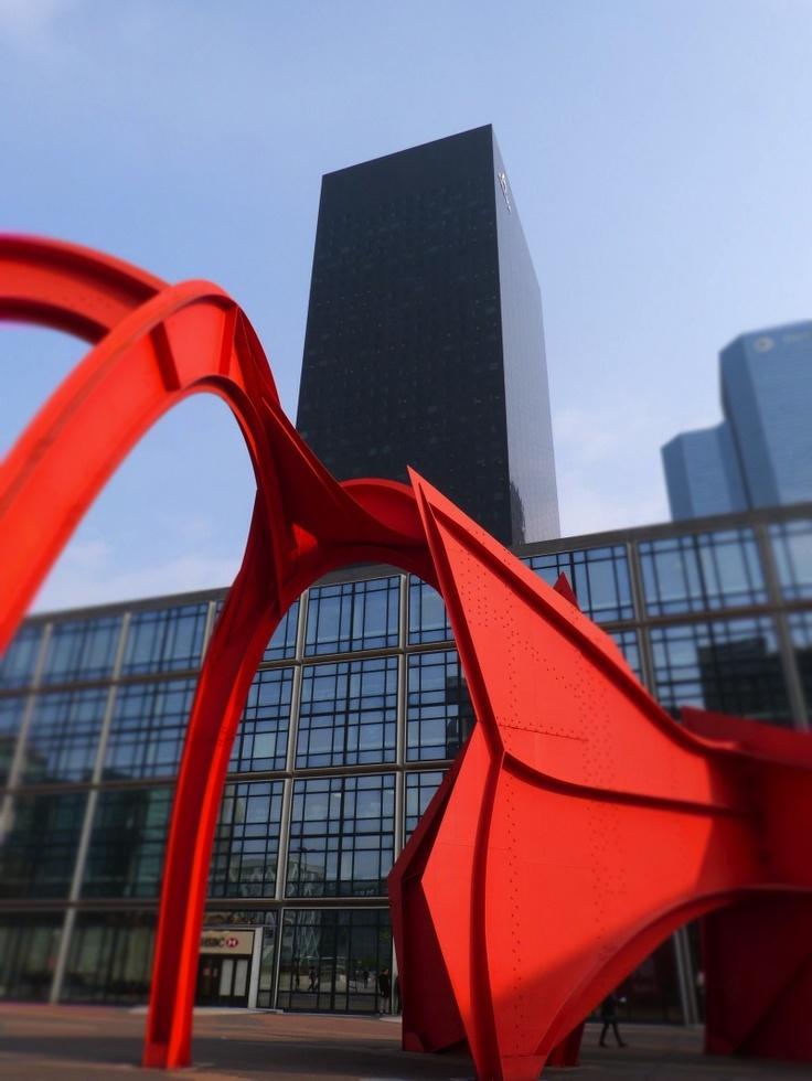 Vincent Brun                                               Calder  La Défense