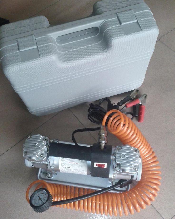 Lleva tu compresor doble pistón a precio oferta! $79.900 https://youtu.be/xpzJs0k-SNk info@ORC.cl #orcchile #compresor #offroad