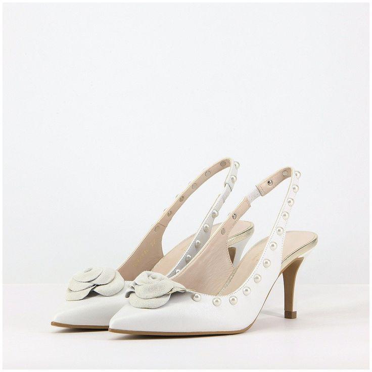Zapatos de novia de salón modelo Elfrida de Lodi