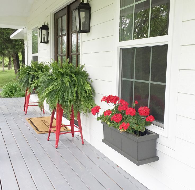 Unique Ideas For Plant Stands Porch Plants Summer Front