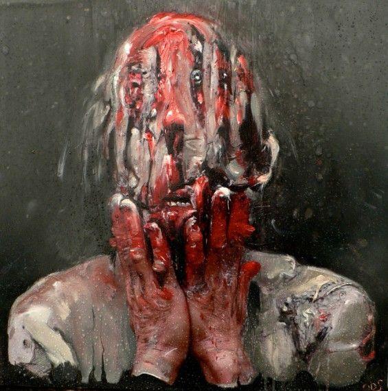 things nightmares are made of !Olivier De Sagazan's Dark World