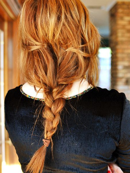 Awesome Fishtail Braided Hairstyles for A Date Night