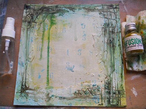 PaperArtsy: 2017 #3 Explore Soft Infusions Panel {by Alison Hall}