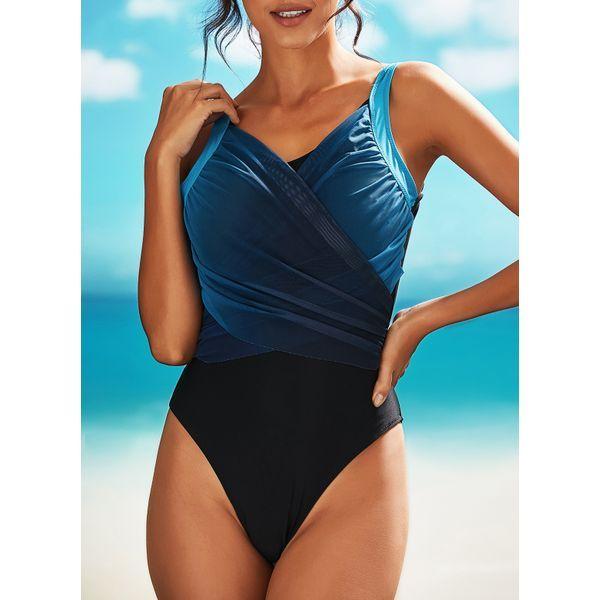 Uni Nylon Brush One Piece Bikini e cinturini da bagno (30015430886) # ladies #fa …
