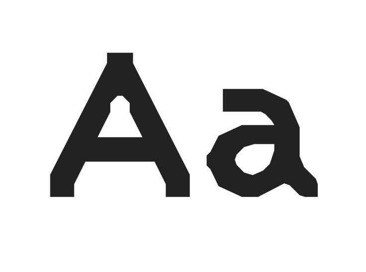Las tipografías con fobia a las curvas de Zuzana Licko, cofundadora de Emigre