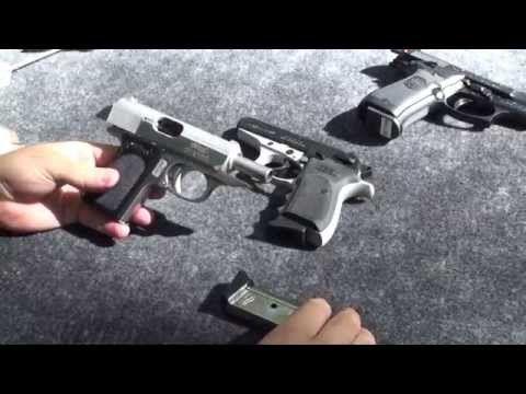 ¿Cual es la Mejor? Walther PPK, Bersa Thunder, Beretta Cheetah - YouTube