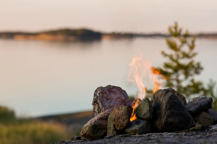 Lagerfeuer © Taipale Brothers/ Visit Finland