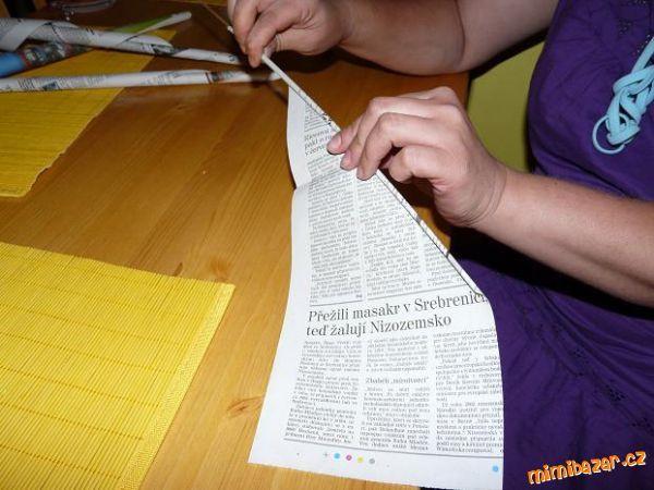 Ruličky z papíru
