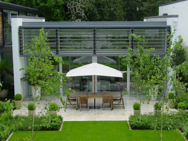 168 besten Garten Bilder auf Pinterest Landschaftsbau - moderne gartengestaltung exklusiver