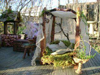 25 best fairy furniture images on Pinterest Fairies garden