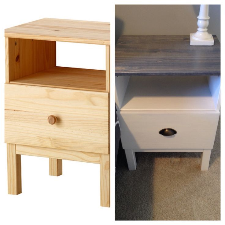 1000 ideas about ikea hack nightstand on pinterest ikea - Malm bed with nightstands ...