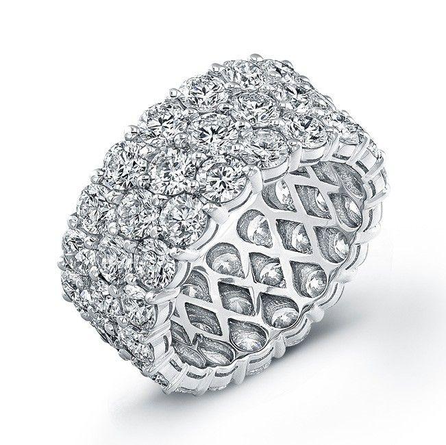 Diamond #eternity #wedding #band
