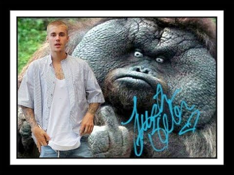 Created and Hand-signed by JUSTIN BIEBER!