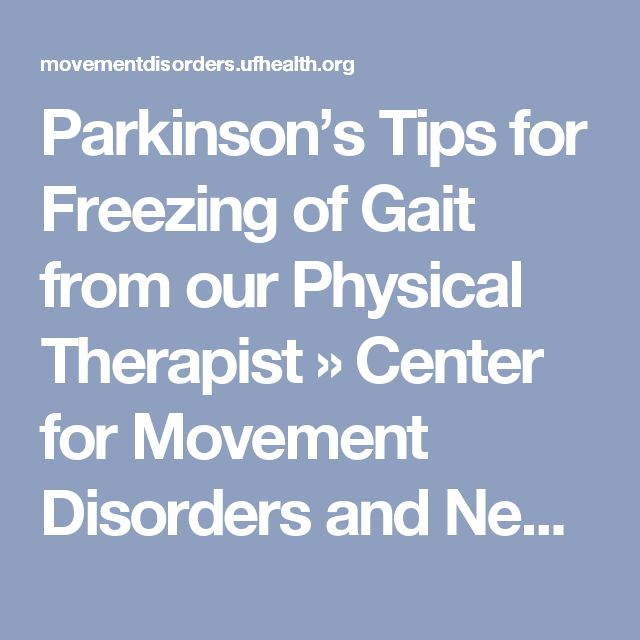 Parkinsons Disease and Movement Disorders Clinic UCSF