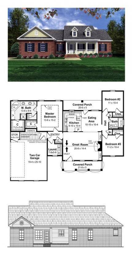 Best 40 Ideas House Plans 1500 Sq Ft Love Craftsman House 640 x 480