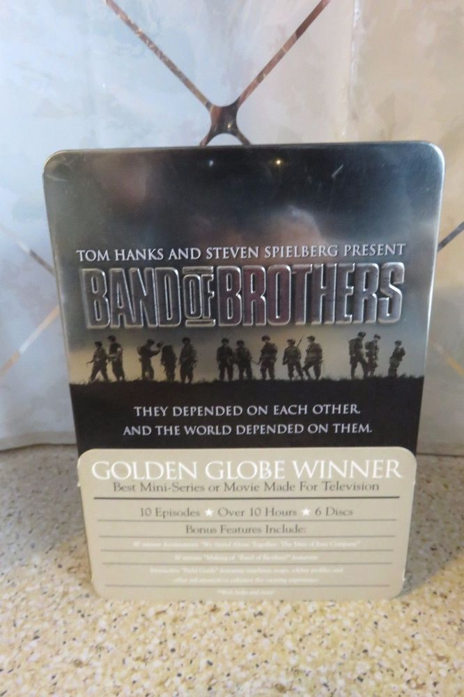 Band of Brothers (DVD, 2002, 6-Disc Set) HBO Series, Complete in Tin 10 Episodes
