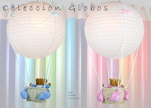 002800 OFERTA LAMPARA INFANTIL GLOBOS.